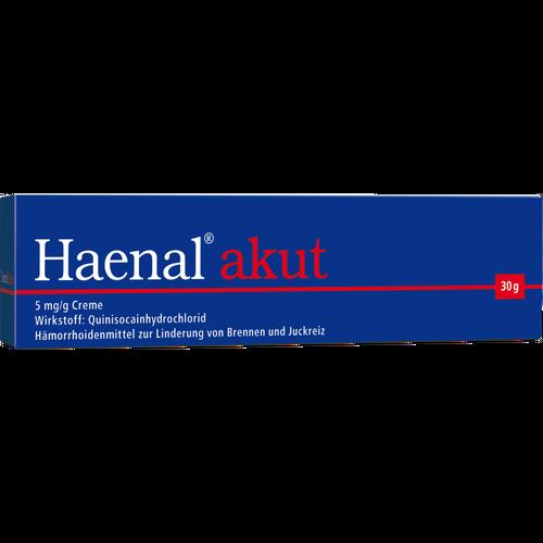 Verpackungsbild(Packshot) von HAENAL akut Creme