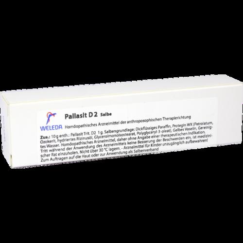 Verpackungsbild(Packshot) von PALLASIT D 2 Salbe