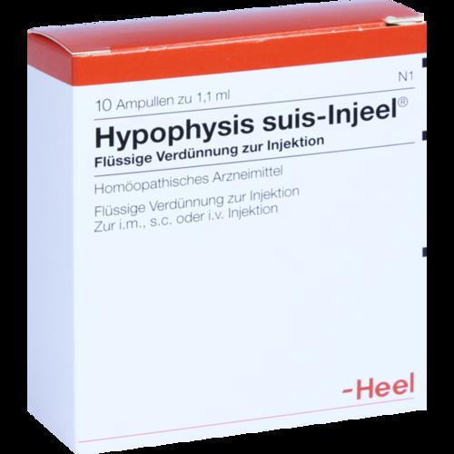 Verpackungsbild(Packshot) von HYPOPHYSIS SUIS Injeel Ampullen