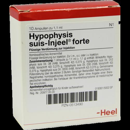 Verpackungsbild(Packshot) von HYPOPHYSIS SUIS Injeel forte Ampullen
