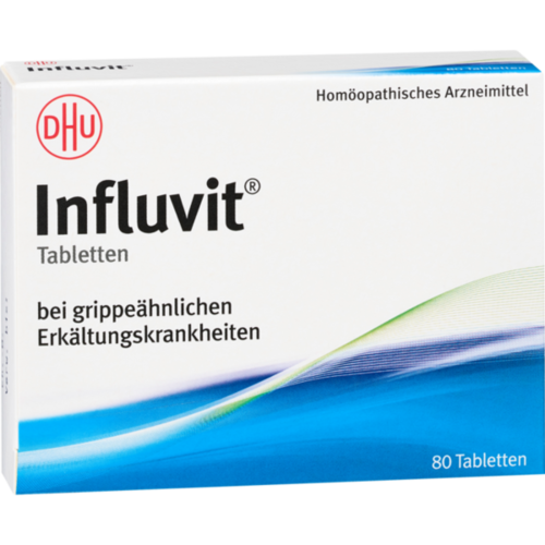 Verpackungsbild(Packshot) von INFLUVIT Tabletten