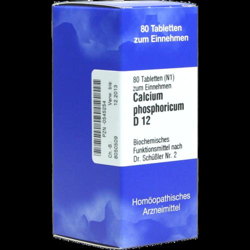Verpackungsbild(Packshot) von BIOCHEMIE 2 Calcium phosphoricum D 12 Tabletten