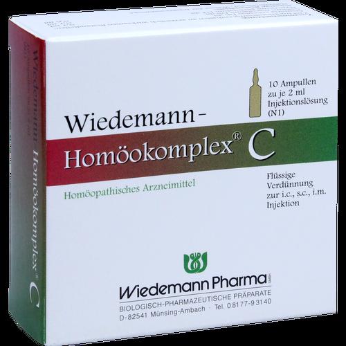 Verpackungsbild(Packshot) von WIEDEMANN Homöokomplex C Ampullen