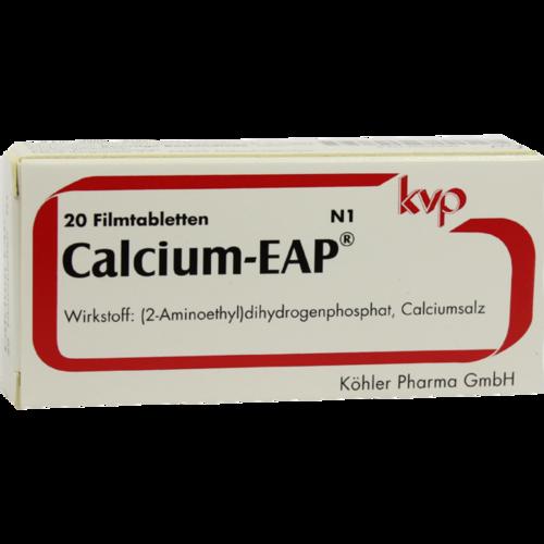 Verpackungsbild(Packshot) von CALCIUM EAP magensaftresistente Tabletten