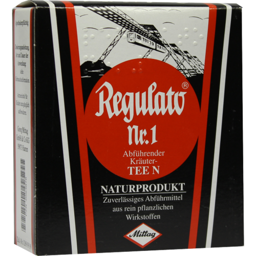 Verpackungsbild(Packshot) von REGULATO Tee Nr.1 Abführ