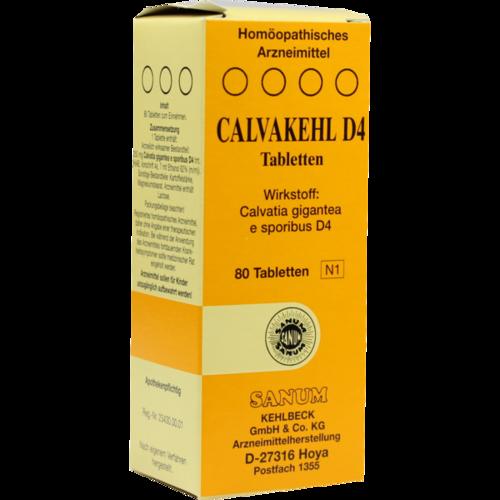 Verpackungsbild(Packshot) von CALVAKEHL D 4 Tabletten