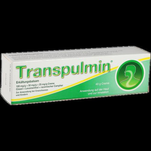 Verpackungsbild(Packshot) von TRANSPULMIN Erkältungsbalsam