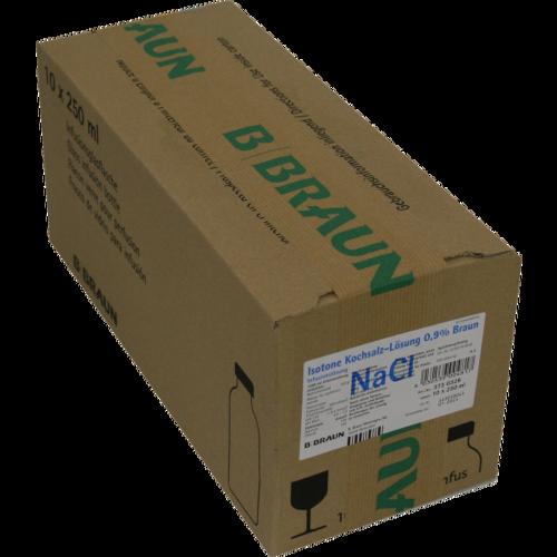 Verpackungsbild(Packshot) von KOCHSALZLÖSUNG 0,9% Glasfl.