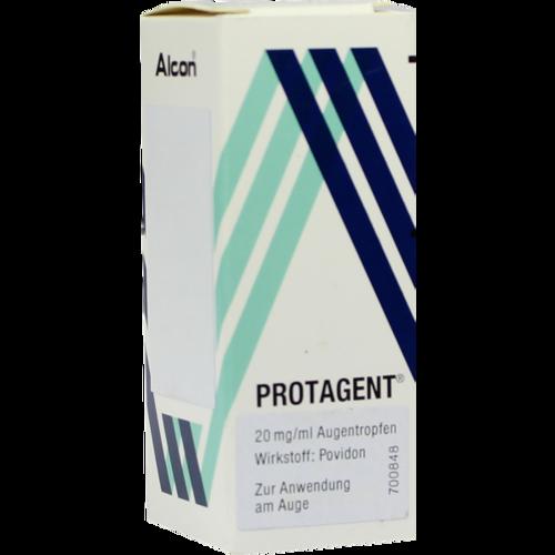 Verpackungsbild(Packshot) von PROTAGENT Augentropfen