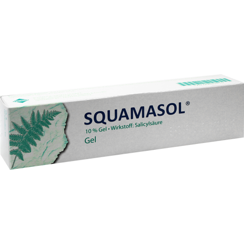 Verpackungsbild(Packshot) von SQUAMASOL Gel