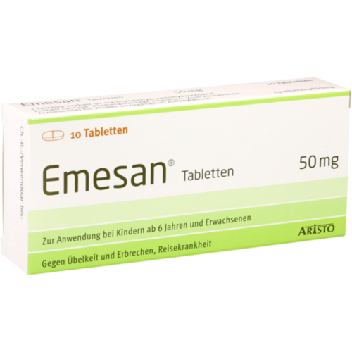 Verpackungsbild(Packshot) von EMESAN Tabletten