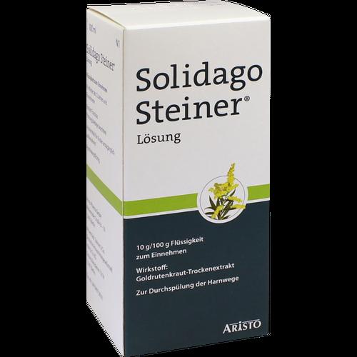 Verpackungsbild(Packshot) von SOLIDAGO STEINER Lösung Flüssigkeit z.Einnehmen