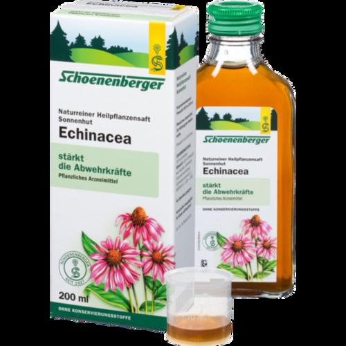 Verpackungsbild(Packshot) von ECHINACEA SAFT Sonnenhut Schoenenberger
