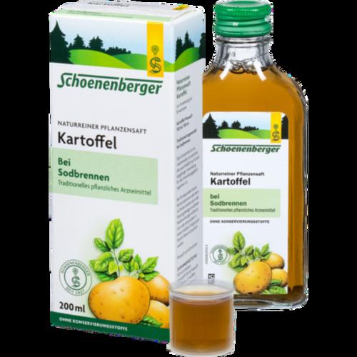 Verpackungsbild(Packshot) von KARTOFFELSAFT Schoenenberger