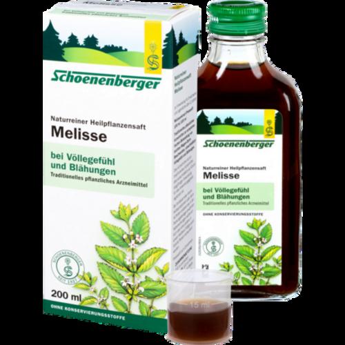 Verpackungsbild(Packshot) von MELISSEN SAFT Schoenenberger