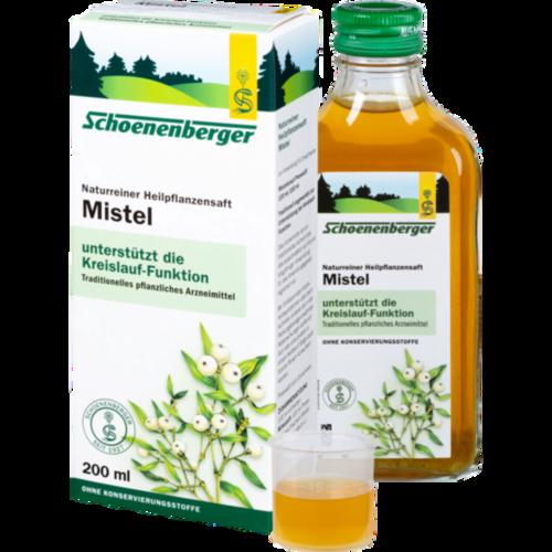 Verpackungsbild(Packshot) von MISTEL SAFT Schoenenberger