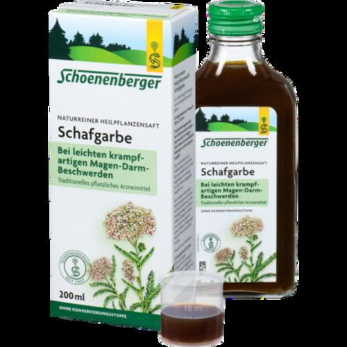Verpackungsbild(Packshot) von SCHAFGARBENSAFT Schoenenberger