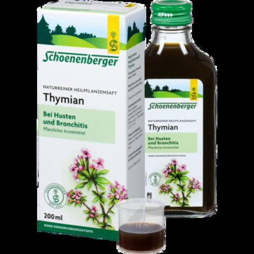 Verpackungsbild(Packshot) von THYMIAN SAFT Schoenenberger