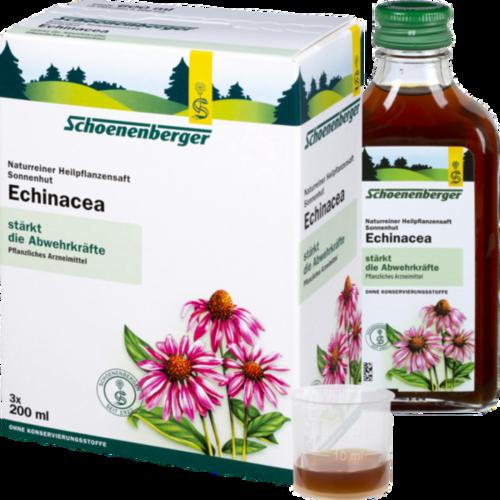 Verpackungsbild(Packshot) von ECHINACEA SAFT Schoenenberger Heilpflanzensäfte