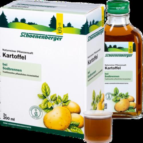 Verpackungsbild(Packshot) von KARTOFFELSAFT Schoenenberger Heilpflanzensäfte