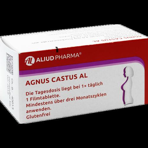 Verpackungsbild(Packshot) von AGNUS CASTUS AL Filmtabletten