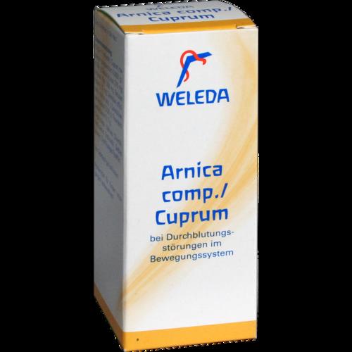Verpackungsbild(Packshot) von ARNICA COMP./Cuprum ölige Einreibung
