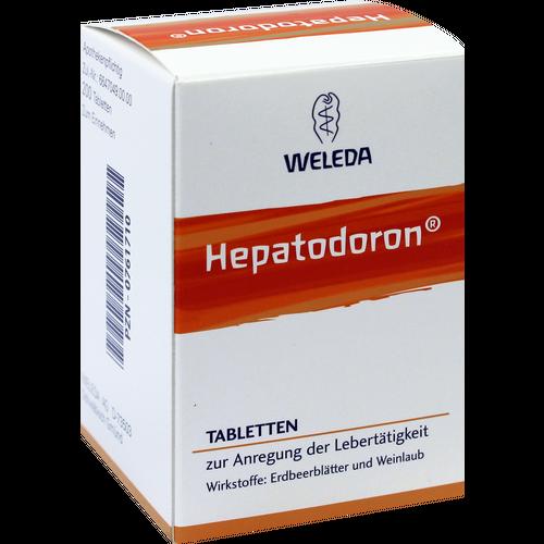 Verpackungsbild(Packshot) von HEPATODORON Tabletten