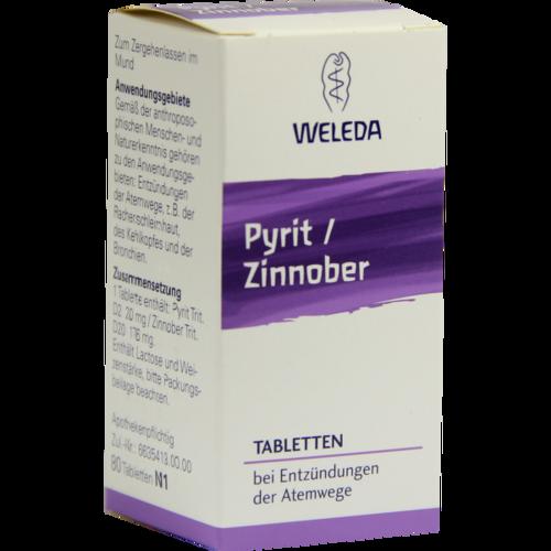 Verpackungsbild(Packshot) von PYRIT ZINNOBER Tabletten