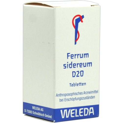 Verpackungsbild(Packshot) von FERRUM SIDEREUM D 20 Tabletten