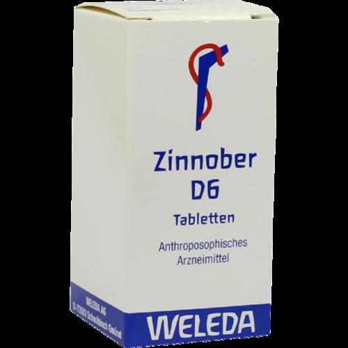 Verpackungsbild(Packshot) von ZINNOBER D 6 Tabletten