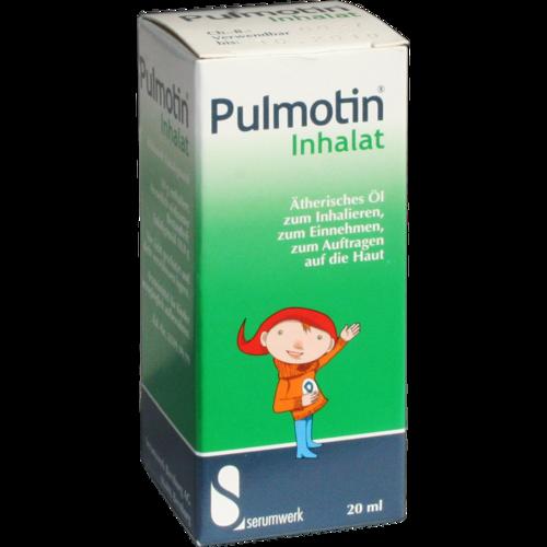 Verpackungsbild(Packshot) von PULMOTIN Inhalat