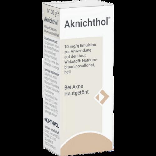 Verpackungsbild(Packshot) von AKNICHTHOL Lotion
