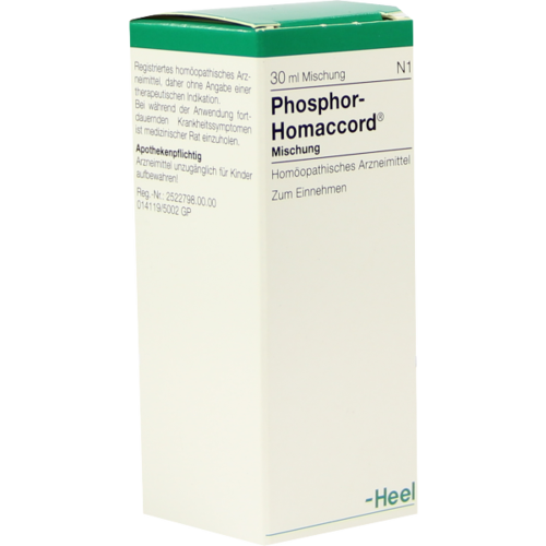 Verpackungsbild(Packshot) von PHOSPHOR HOMACCORD Tropfen