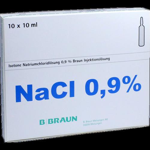 Verpackungsbild(Packshot) von KOCHSALZLÖSUNG 0,9% Injektionslösung