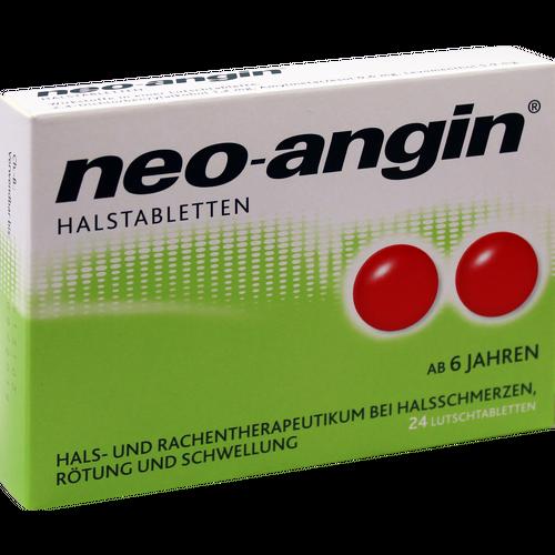 Verpackungsbild(Packshot) von NEO-ANGIN Halstabletten