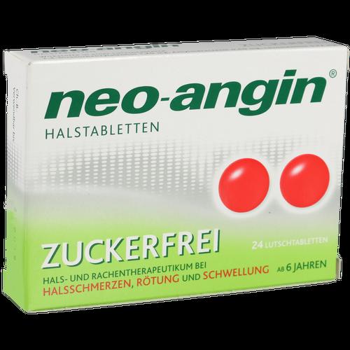 Verpackungsbild(Packshot) von NEO-ANGIN Halstabletten zuckerfrei