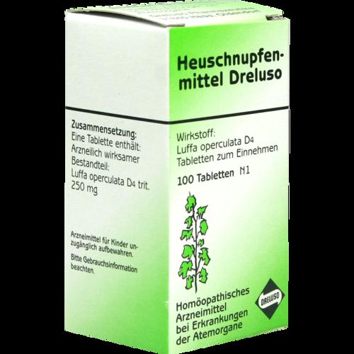 Verpackungsbild(Packshot) von HEUSCHNUPFENMITTEL Dreluso Tabletten