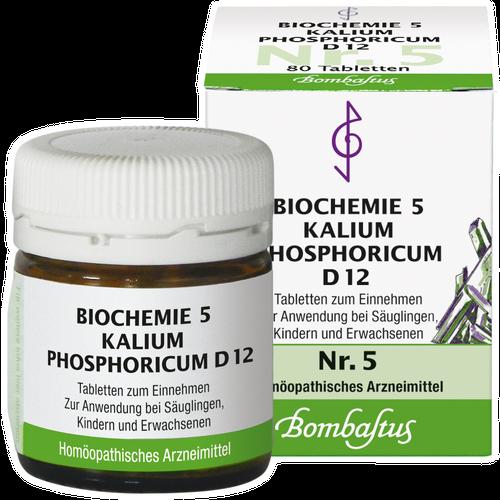 Verpackungsbild(Packshot) von BIOCHEMIE 5 Kalium phosphoricum D 12 Tabletten