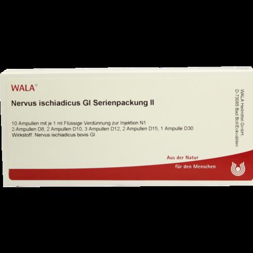 Verpackungsbild(Packshot) von NERVUS ISCHIADICUS GL Serienpackung 2 Ampullen