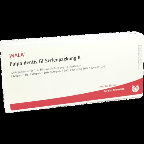 Verpackungsbild(Packshot) von PULPA DENTIS GL Serienpackung 2 Ampullen