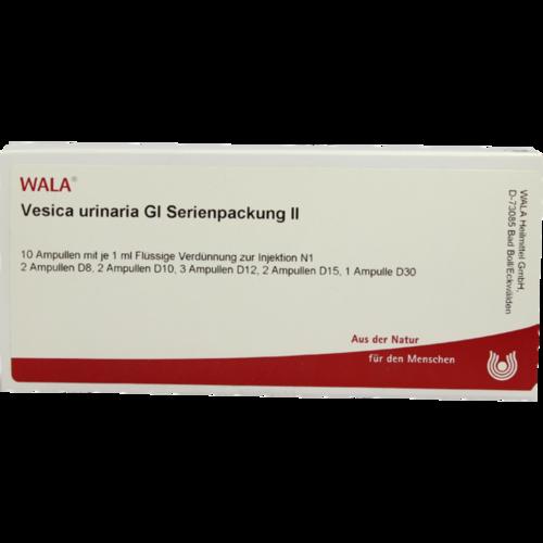 Verpackungsbild(Packshot) von VESICA URINARIA GL Serienpackung 2 Ampullen