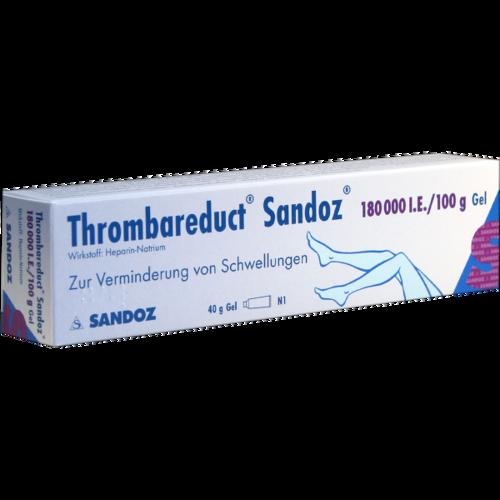 Verpackungsbild(Packshot) von THROMBAREDUCT Sandoz 180.000 I.E. Gel