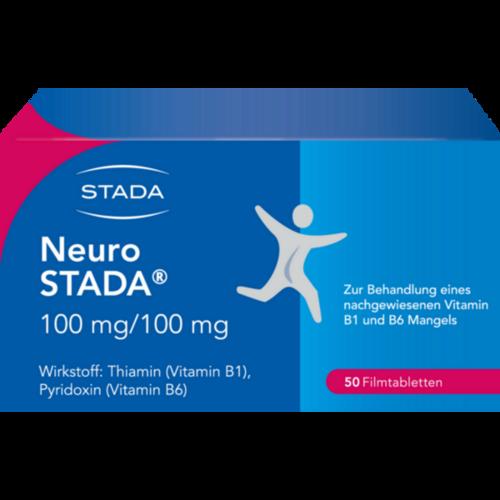 Verpackungsbild(Packshot) von NEURO STADA Filmtabletten