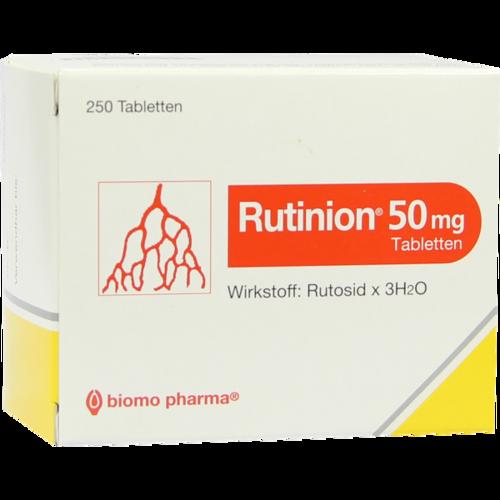 Verpackungsbild(Packshot) von RUTINION Tabletten