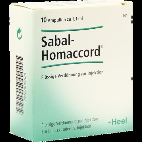 Verpackungsbild(Packshot) von SABAL HOMACCORD Ampullen