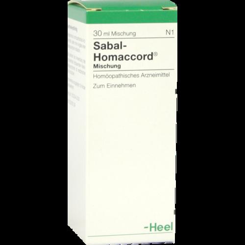 Verpackungsbild(Packshot) von SABAL HOMACCORD Tropfen