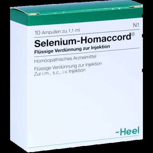 Verpackungsbild(Packshot) von SELENIUM HOMACCORD Ampullen