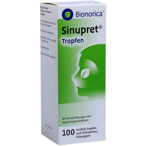 Verpackungsbild(Packshot) von SINUPRET Tropfen