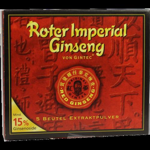 Verpackungsbild(Packshot) von ROTER GINSENG Imper.Gintec Extraktpulver 15% Btl.