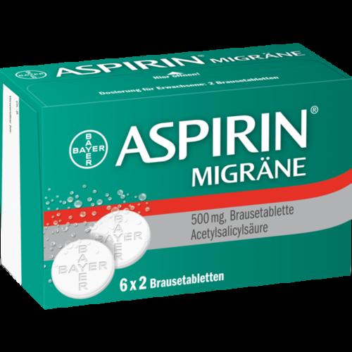 Verpackungsbild(Packshot) von ASPIRIN MIGRÄNE Brausetabletten